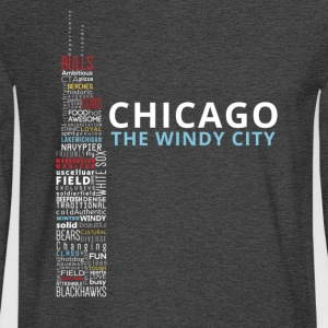 The Windy City - Men's Long Sleeve T-Shirt