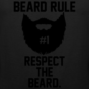 Beard Rules T-Shirts - Men's Premium Tank