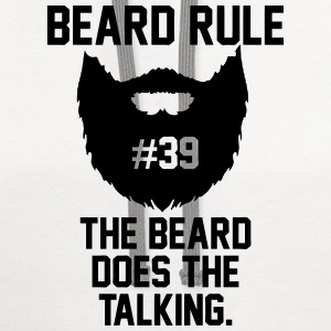 Beard Rules T-Shirts - Contrast Hoodie