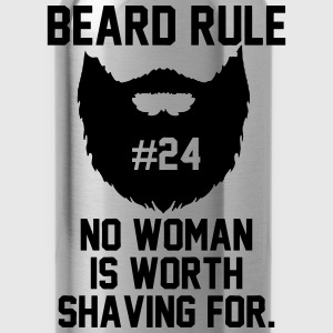 Beard Rule T-Shirts - Water Bottle