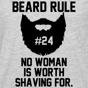 Beard Rule T-Shirts - Men's Premium Long Sleeve T-Shirt