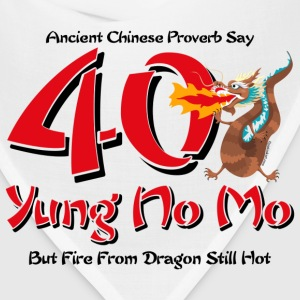 Yung No More 40th Birthday T-Shirt - Bandana