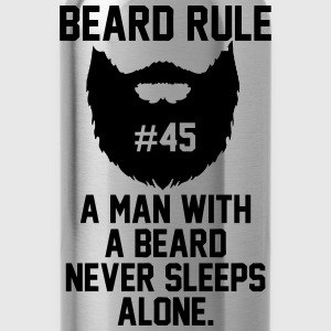 Beard Rules T-Shirts - Water Bottle