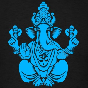 Blue Ganesh Tanks - Men's T-Shirt