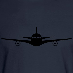 Jet Plane Hoodies - Men's Long Sleeve T-Shirt