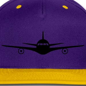 Jet Plane Hoodies - Snap-back Baseball Cap