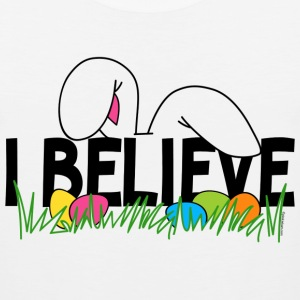 Believe In The Easter Bunny T-Shirt - Men's Premium Tank