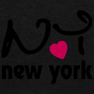 New York / NY / NYC / I love New York Zip Hoodies & Jackets - Unisex Fleece Zip Hoodie by American Apparel