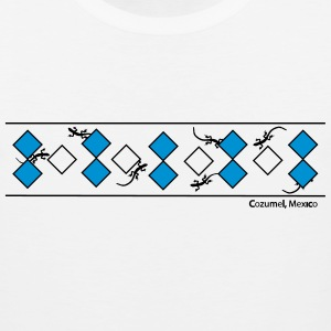 Lizards & Diamonds/Cozumel - Men's Premium Tank
