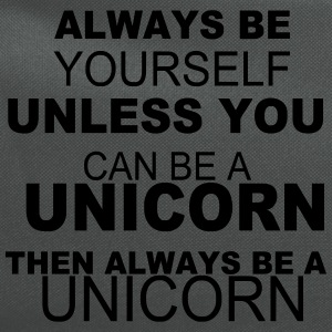Always be yourself unless you can be a unicorn T-Shirts - Computer Backpack