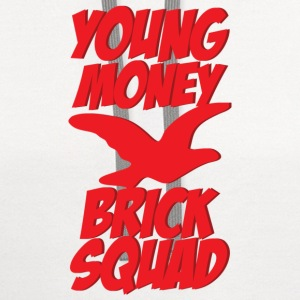 young money brick squad Women's T-Shirts - Contrast Hoodie