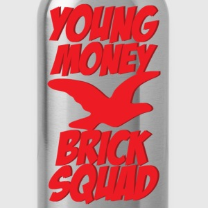 young money brick squad Long Sleeve Shirts - Water Bottle