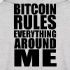 Men's Hoodie Bitcoin Rules Everything Around Me - Men's Hoodie