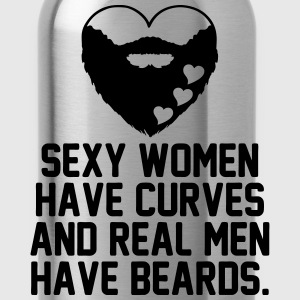 Beard Lovers Women's T-Shirts - Water Bottle