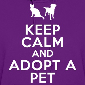 keep_calm_and_adopt_a_pet Women's T-Shirts - Women's Hoodie