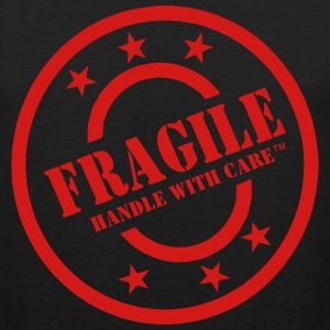 FRAGILE HANDLE WITH CARE T-Shirts - Men's Premium Tank