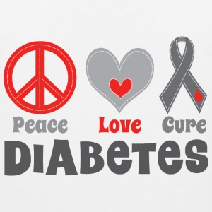 Diabetes Cure Women's T-Shirts - Men's Premium Tank