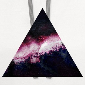 triangle galaxy Kids' Shirts - Contrast Hoodie