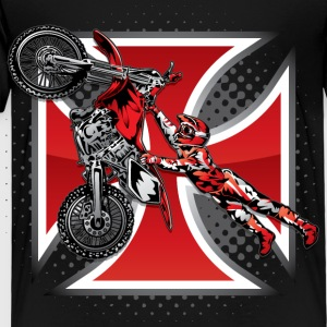 Red Baron Motocross Kids' Shirts - Toddler Premium T-Shirt