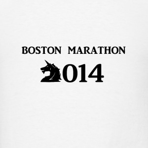 Boston Marathone 2014 Buttons - Men's T-Shirt