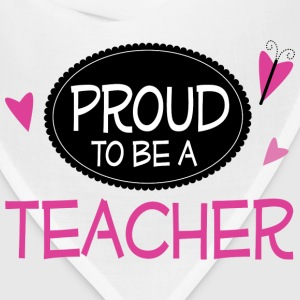 Proud Teacher Hoodies - Bandana