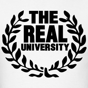 THE REAL UNIVERSITY Hoodies - Men's T-Shirt