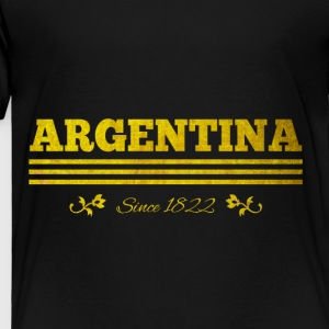 Vintage golden ARGENTINA since 1822 - Toddler Premium T-Shirt