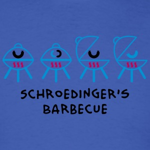 Schroedinger's Barbecue Long Sleeve Shirts - Men's T-Shirt