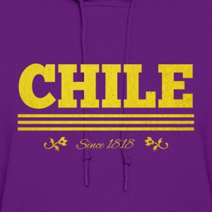 Vintage golden CHILE since 1818 - Women's Hoodie