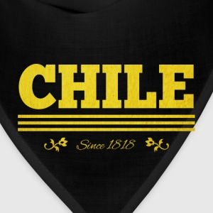 Vintage golden CHILE since 1818 - Bandana
