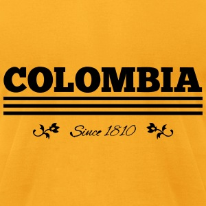 Vintage COLOMBIA since 1810 - Men's T-Shirt by American Apparel