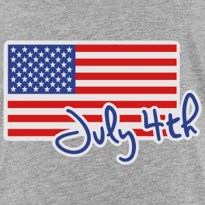 July 4th Kids' Shirts - Toddler Premium T-Shirt
