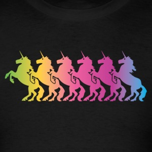 Unicorns (Color) Sweatshirts - Men's T-Shirt