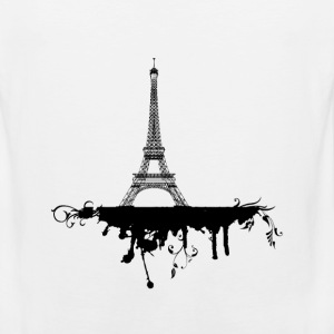 Eiffel Tower Hoodies - Men's Premium Tank