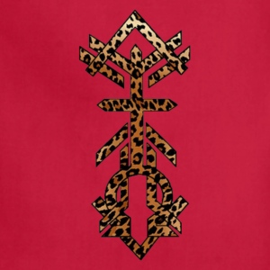 Alpha Omega Leopard Print T-Shirts - Adjustable Apron