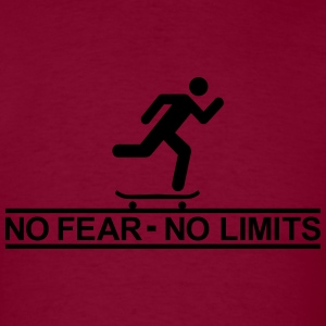 Skate - No fear no limits Hoodies - Men's T-Shirt
