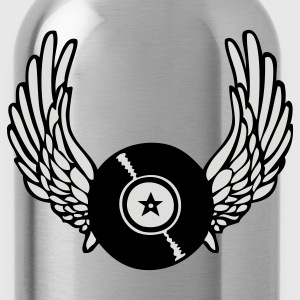 Winged Record - Water Bottle