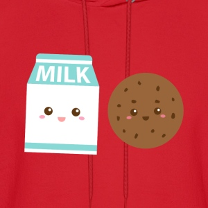 Kawaii Milk and Cookies - Men's Hoodie