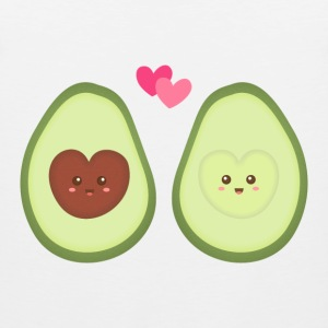 Cute Avocado In Love - Men's Premium Tank