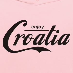 Yellow enjoy_croatia Men - Kids' Hoodie