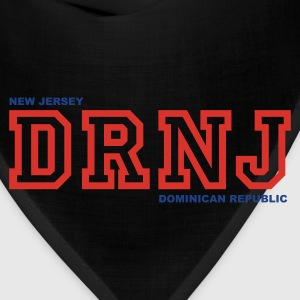 Black DR NJ T-Shirts - Bandana