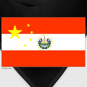 Navy China Elsalvador T-Shirts - Bandana