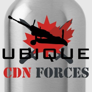 Chocolate Canadian Forces Cross Men - Water Bottle