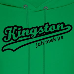 Bright green Kingston Men - Men's Hoodie