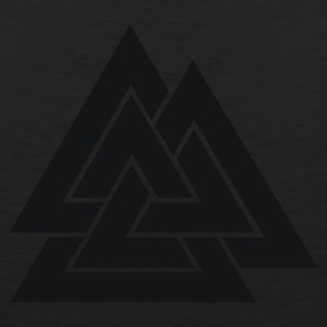 Odin's Mark, the Valknut - Black - Men's Premium Tank