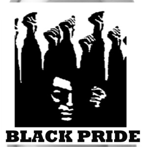 Black Black Pride Men - Water Bottle