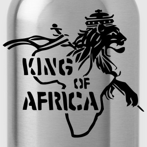 Chocolate King Of Africa Men - Water Bottle