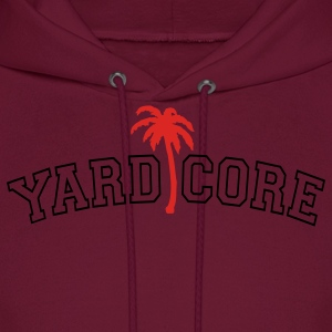 Burgundy YardCore Men - Men's Hoodie