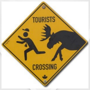 Tourists Crossing - Bandana