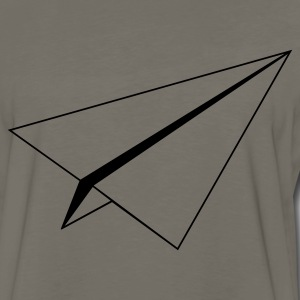 Chocolate paperplane Men - Men's Premium Long Sleeve T-Shirt